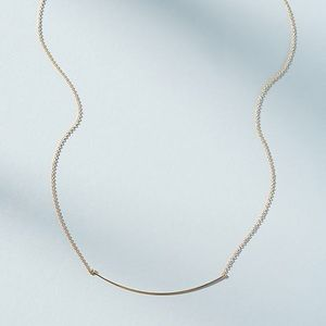Anthropologie Gold Arc Necklace